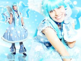 Simone as Kula Yujin Gals by carolmanachan