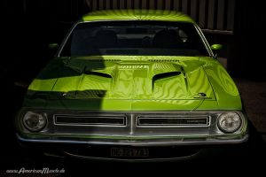 green 70 cuda by AmericanMuscle