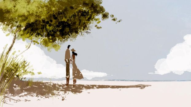 When the sand is just warm enough. by PascalCampion