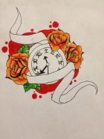 another tick tock clock by BitternessPrincess