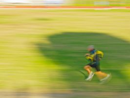Running - panning by Gianlooka