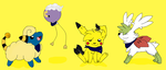 Pika Chey Gang by Super-Chey