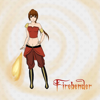 Firebender by red-mango