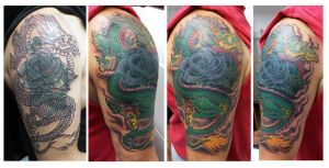 Dragon Cover Up Complete by Ashtonbkeje