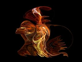 Flaming Lady by SARETTA1