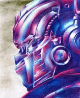 Optimus Prime: Transformed by miki-squeak