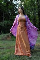 Carrie Anne in Silk 11 by LinzStock