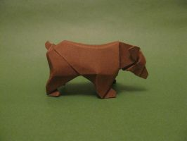Origami Bear by orimin