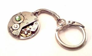 Steampunk Vintage Key Ring by SteamDesigns