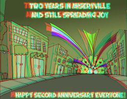 Two Years of Two-Shoes in 3D by mk45x