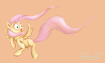 Fluttershy Sketch by AnnLies