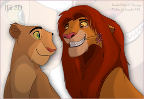 More Simba and Nala by Mel777