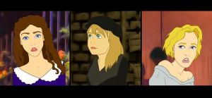 Disneyfied Les Mis Girls by musicals