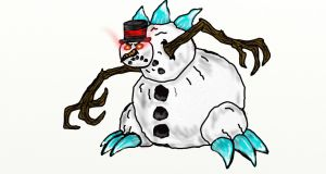Frosty the SnowKiller by corex13