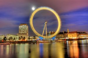 London Eye - HDR by Ageel