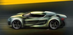 Audi GT Concept by LovesTheMuffin