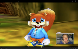 Pewdie and Conker: Double Disturbed Reaction x2!!! by The-Hero-Of-Thyme