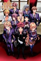 Shokugeki no Soma Color Cover Manga 121 by Unrealyeto