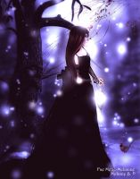 Lost in the snow by Fae-Melie-Melusine