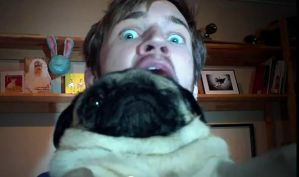 Pewdiepie Pug by PufferfishCat