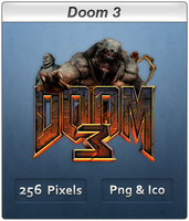 Doom 3 - Icon by Crussong