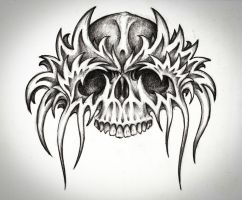 Skull design by bobby79