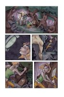 TV Monster Page Two by Liabra
