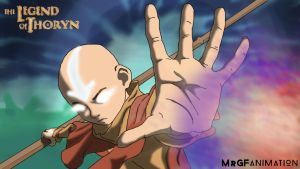 Aang opens Spirit Portal by AvatarThoryn