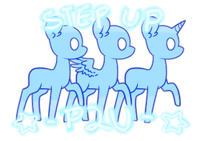 STEP UP! PONY BASE *FULL PACK* [P2U] by mvnchies