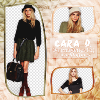 Pack png 70 - Cara Delevingne by worldofpngs