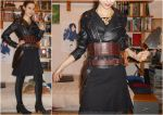 River Song Christmas special jacket cosplay WIP by ArwendeLuhtiene
