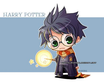 harry potter by auroreblackcat