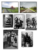 DAY 390. Some quick composition master studies by Cryptid-Creations