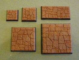 Detailed 'GW' style square bases by MechanicalHorizon