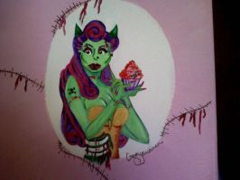 zombie chick by christymay26