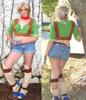 Tess Cosplay: Jak and Daxter by Demyrie