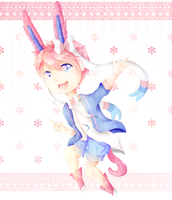 sylveon gijinka by crinuyi