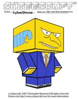 Cubeecraft - Mr. Burns by CyberDrone