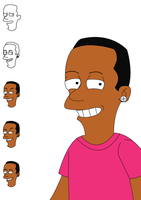 me as a simpson character by ainsley1111