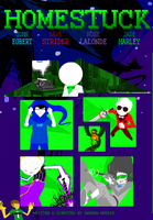 Homestuck promo poster by likeablur
