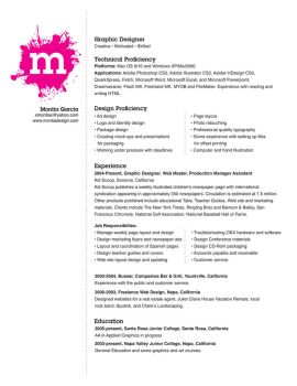 My Resume by montia