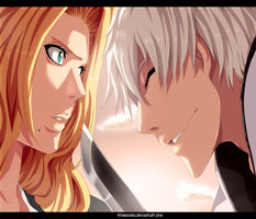 Matsumoto and Gin  - Bleach by StingCunha