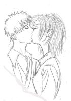 momo kissing toji by babysaki