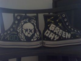 Custom Green Day Converse by SweeneyxLovett4ever