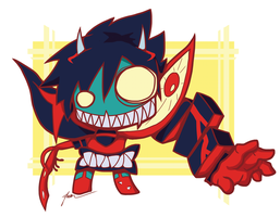 Kill La Kill - Monster Chibi by PenguinAttackStudios