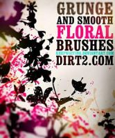 Floral Photoshop Brushes by analeewon