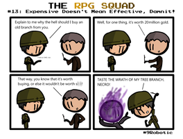 The RPG Squad #13 by Number9Robotic