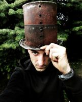 Metal Top Hat by Madhouse-Customs
