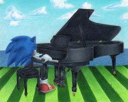 The Pianist by PiEqualsThreeOneFour
