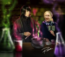 Potion Lesson commission by RamaChan
